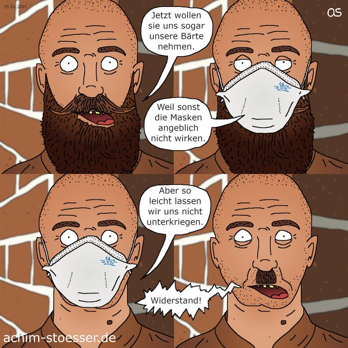 Maskenbart