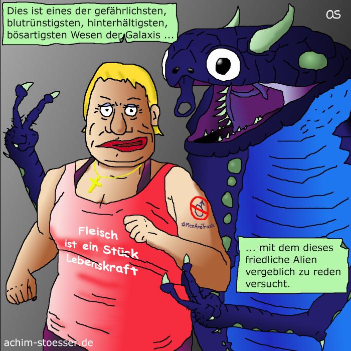 Monster vs Alien.