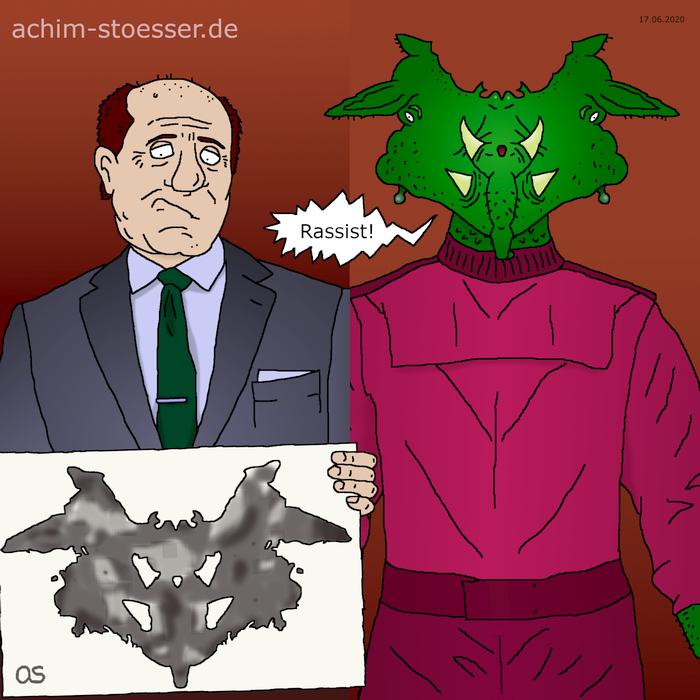 Rorschach-Alien